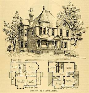 Historic Victorian House Plan Singular Hireonic