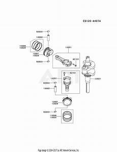 Kawasaki Fx730v Crankshaft