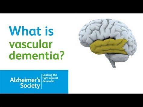 vascular dementia alzheimers society dementia