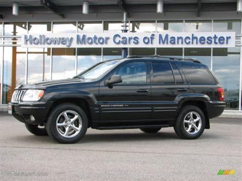 black jeep cherokee 2002 black jeep grand cherokee limited 4x4 60696388