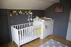 Chambre Bébé Gris Et Jaune. chambre bebe jaune moutarde. les 25 ...