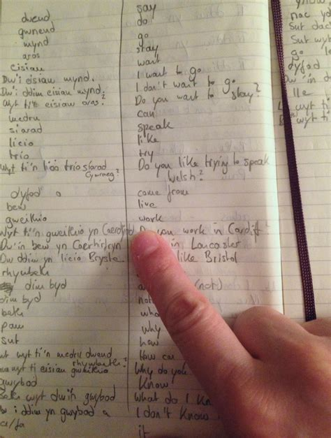 the miraculous benefits of keeping a language notebook by