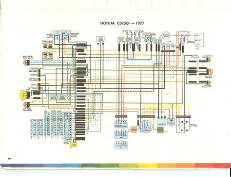 1978 Honda Cb750k Wiring Diagram by Cb750f