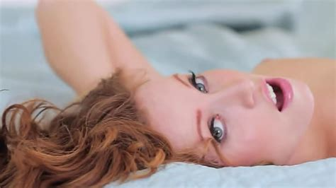 Smoking Hot Redhead In Sheer White Lingerie Xbabe Video