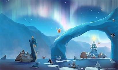 Glaceon Wallpapers Christmas Pokemon Desktop Water Pretty
