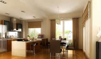 kitchen and dining interior design dining room and open kitchen interior design
