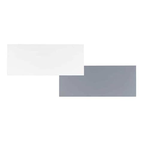 plateaux de bureau plateau de bureau réversible blanc gris l 150 cm desk maisons du monde