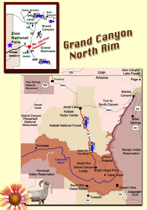 grand canyons north rim   parts part  desert