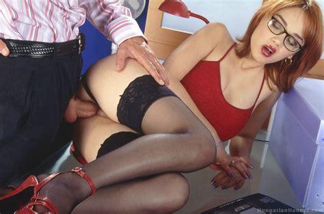 Lenka Gaborova Super Sexy Secretary Sex