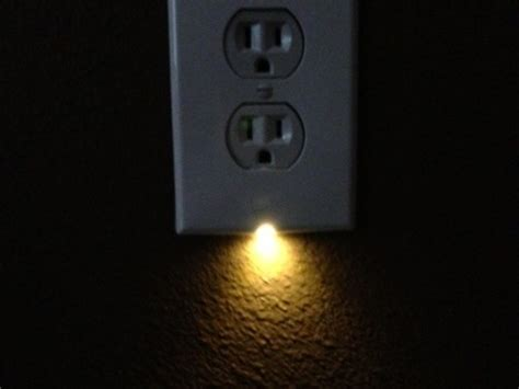 outlet plate night light illumiplate the best night light outlet cover plate by