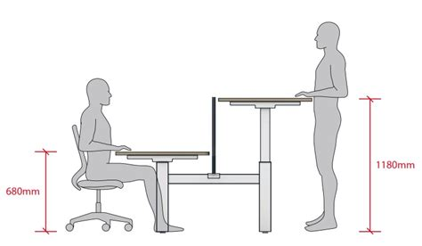 what is desk height move height adjustable desks