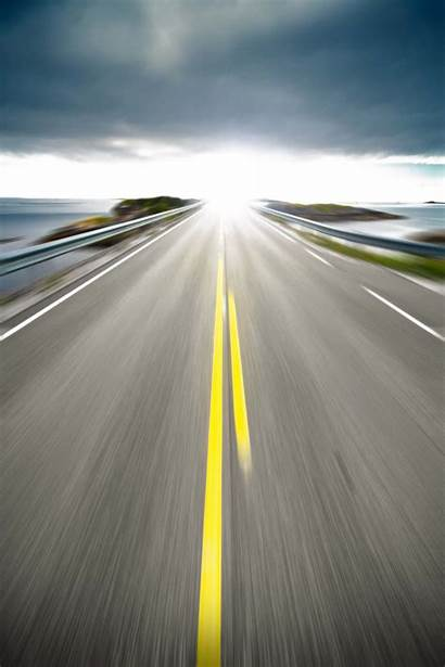 Road Highway Clipart Transparent Background Scenery Sky
