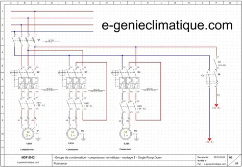 armoire electrique chambre froide froid17 le 2éme montage groupe hermétique avec le single