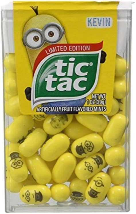 Limited Edition Despicable Me Minions Tic Tac   Buy Online