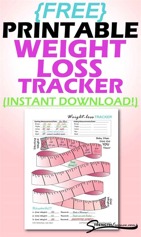 Dec 23, 2020 · formerly weight watchers, ww is known as one of the best weight loss diets, according to u.s. free-printable-weight-loss-tracker-template-pdf - Strength Essence