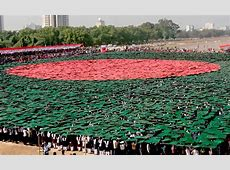 Bangladesh forms largest 'human national flag'; breaks