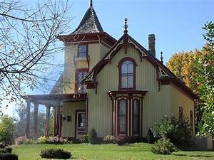 Mid-19th Century Gothic Revival, Cox House St. Peter, MN ...