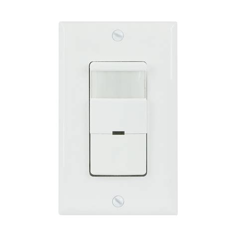 occupancy motion sensor light switch in wall pir detector