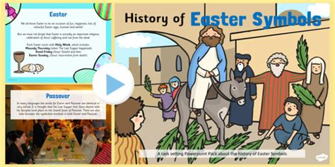 Ks1 All About Easter Symbols Powerpoint