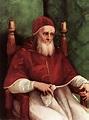 Portrait of Pope Julius II, c.1511 - c.1512 - Raphael ...