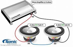 Kicker 2 Ohm Subwoofer Wiring Diagram