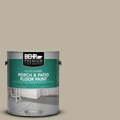 Home Depot Deck Paint Behr by Behr Premium 1 Gal Pfc 32 Spanish Parador Gloss Porch