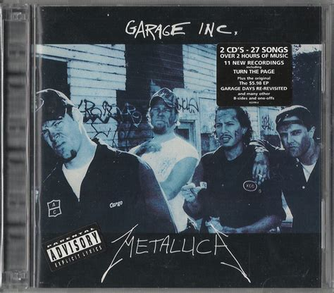 Metallica  Garage Inc At Discogs