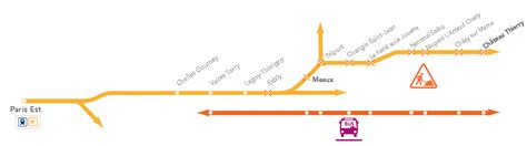 horaire ligne 19 chelles travaux entre est et ch 226 teau thierry du 2 au 19 avril 2013