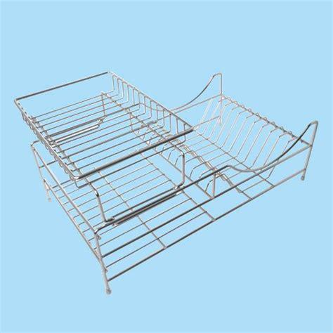 sakura  tiers compact dish rack kitchenware dish drying rack dish drainer  removable