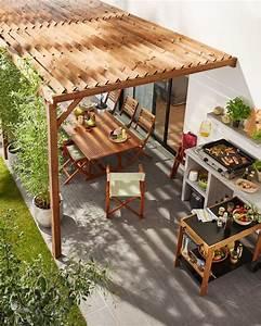 Tonnelle Pour Balcon : pergola et tonnelle pour le jardin ou la terrasse notre ~ Premium-room.com Idées de Décoration
