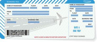 blank airline boarding pass ticket stock   images