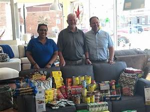spacek39s gives back to community through food bank my With home furniture kapuskasing