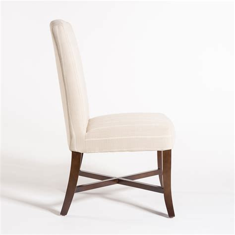 mercer dining chair alder tweed furniture