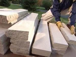 How to Build Stone Pillars how-tos DIY