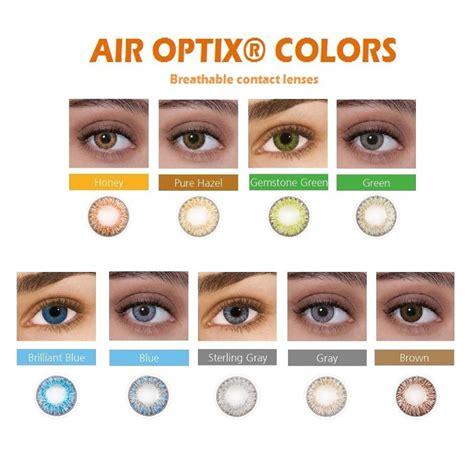 air colors air optix colors monthly 2 pcs contact lenses focus