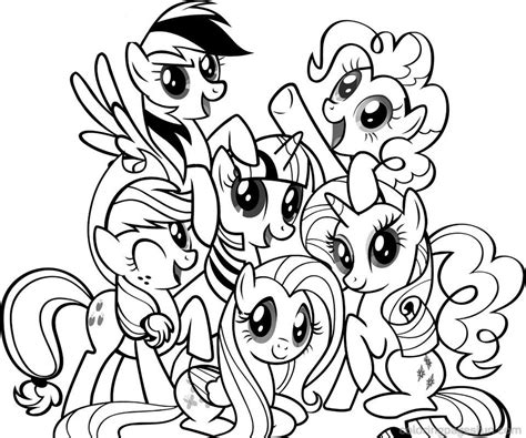 Coloring My Pony by My Pony Coloring Pages 21 Coloring Pages My