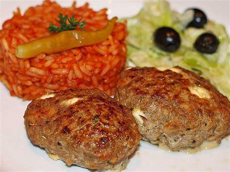 botos bifteki mit griechischem tomatenreis von boto chefkoch