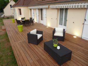 prix de pose d39une terrasse en bois monequerrefr With photo carrelage terrasse exterieur 7 prix dune terrasses au m2 bois beton composite