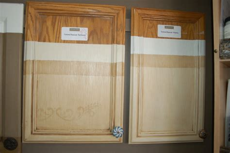 the gallery for gt pickled oak cabinets updated