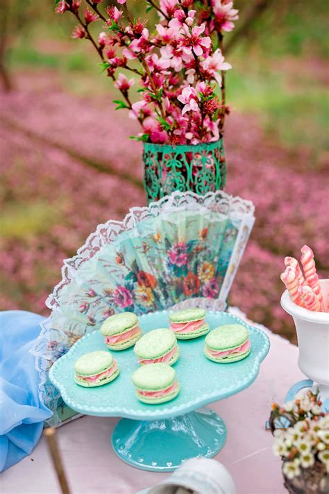 tea bridal shower decorations kara s ideas bridal shower garden tea kara s