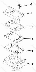 Polaris Snowmobile 1986 Oem Parts Diagram For Fuel Pump