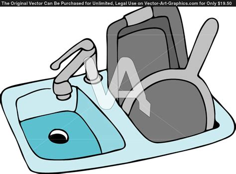 put dishes  sink clipart clipart suggest
