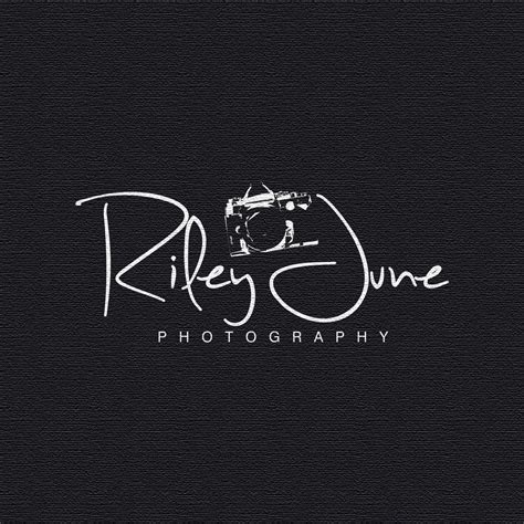 elegant traditional professional photography logo design