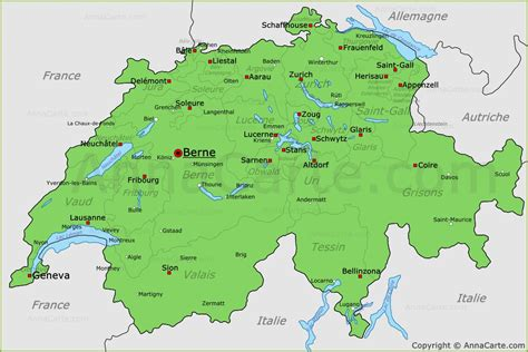 Carte Suisse by Pin Carte Suisse On