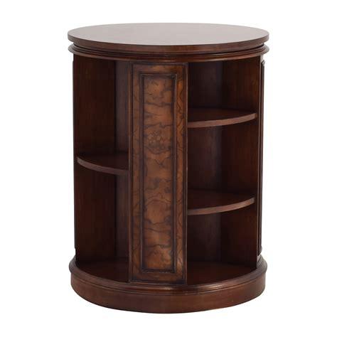 82% Off  Safavieh Safavieh Rotating Side Table Bookcase