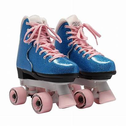 Roller Skates Circle Bubble Gum Bling Society