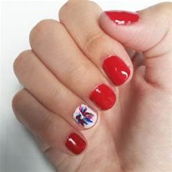 Easy th of july nail art sorority fashion