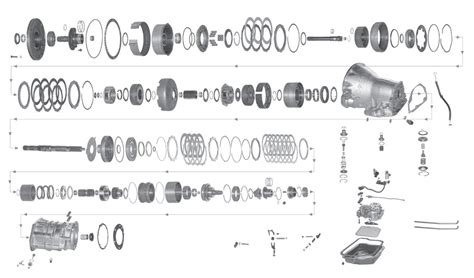 41te Transmission Diagram by 41te Transmission Exploded View Engine Wiring Diagram Images