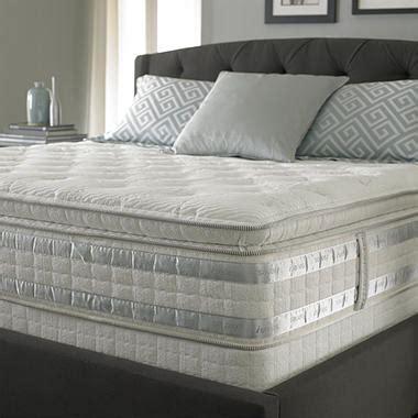 perfect day iseries   ceremony super pillowtop mattress set king sams club