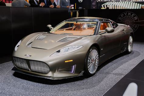 Spyker C8 Preliator Priced From 354990